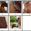 藍莓巧克力蛋糕