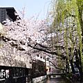 2014.04~09大阪京都:高瀨川櫻花與錦市場