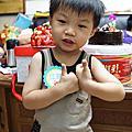 20150604江寶3歲生日&牛角燒肉