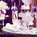 [主題婚禮]淺紫蕾絲主題婚禮