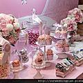[婚禮佈置]粉紅蝴蝶結主題婚禮@寒舍艾麗酒店