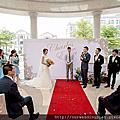 [婚禮佈置]戶外英倫風主題婚禮@高雄義大飯店