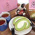 體驗美食。宅配蛋糕{ 櫻和堂 } 超夢幻下午茶點,花樣草莓、抹茶黑糖心手作生乳捲,泡芙蛋糕