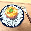 焗烤馬鈴薯培根杯/抹茶芝心乳酪蛋糕
