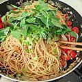 泰式鮮蝦義大利麵