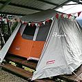 露營手作-三角旗(客家花布)