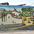 金門瓊林壁畫彩繪牆