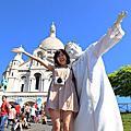 巴黎自助蜜月♥day 3。拉雪滋神父公墓+蒙馬特+聖馬丁運河