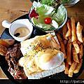 【台南永康─美食】 Fareda 法利達 Caf'e Food Brunch (現為逸職人)