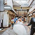 海外婚紗:秋楓染京都。