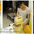 990719香蕉巧克力戚風蛋糕