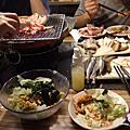 美食-田季發爺烤肉。同事聚餐餐