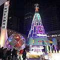 南港金融園區聖誕敲鐘活動