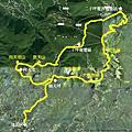 2012-07-05 陽明山西段五連峰小O型縱走