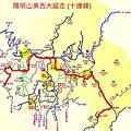 2012-07-15 陽明山東西大縱走 (十連峰)