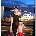 20120901-和外婆遊淡水。