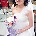 bride 思(短髮) 結婚午宴