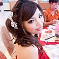 bride 敏 訂婚午宴