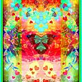 影像重疊創作087 --- 蝴蝶之變