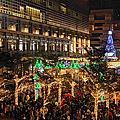 2016.12.04  耶誕街景(四)夜景 --- 台北101耶誕樹