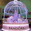 2016.12.12 耶誕街景(八)太平洋Sogo 百貨台北復興館PANDORA魔幻聖誕佈置