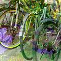 影像重疊創作040 ---腳踏車風情畫(四)仲夏夜之夢