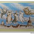 300片:小貓會議之巴黎天空