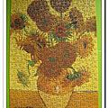 梵谷:向日葵 300片