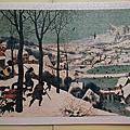 布魯蓋爾 500片:雪地獵人