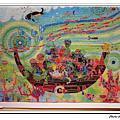 透明迷你拼圖:水溶日的貢多拉船500片
