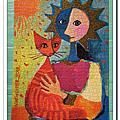 金箔貓:貓的歌劇1000片