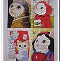 Beverly 108片迷你拼4盒組:<Jetoy>choo choo cat系列