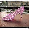 粉紅高跟鞋44片