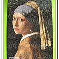 維梅爾:戴珍珠耳環的少女 300片