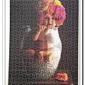 Educa:Anne Geddes 玻璃瓶花500片