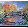 小熊維尼油畫秋天1014片:造訪森林的秋