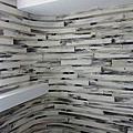陳協建老師黑白益康珪藻土的主題牆