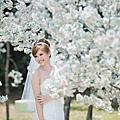 櫻花-日比谷公園:婚紗攝影風格