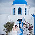 作品集推薦:海外婚紗-希臘婚紗照