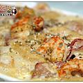 《2012》阿畢師與菁二廚的絕妙好料理之奶油青醬海鮮義大利麵