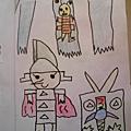 100222【繪本創作】騎士與藏寶圖