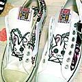 鞋鞋也能畫~^W^y~~~~~