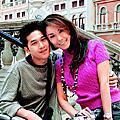 利菁與小她14歲念哲學系的許育仁結婚