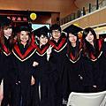大學畢業那年。