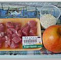 20120301【7M22D】副食品-蘋果豬肉米糊