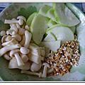 20120320【8M12D】副食品-絲瓜香菇五穀粥