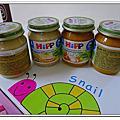 20120323【8M15D】副食品-HIPP(喜寶)雞肉全餐+五穀粥