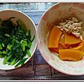 20120401【8M24D】副食品-蘆筍菠菜南瓜豬肉泥