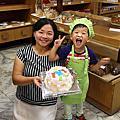 20150829【全職媽媽遛小孩-159】溪湖陳義發食品蛋糕DIY