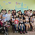 20150917【全職媽媽遛小孩-166】樂樂城堡~小小二寶油畫班